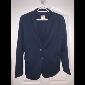 Old Navy Stretchy Navy Blazer